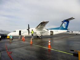TA27さんが、オークランド空港で撮影したエア・ネルソン DHC-8-311Q Dash 8の航空フォト(飛行機 写真・画像)