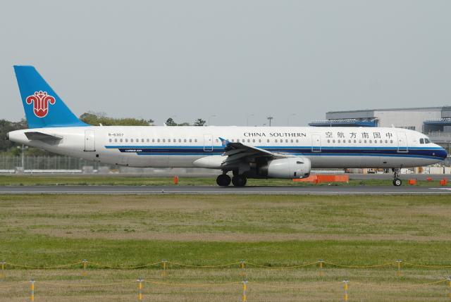 jun☆さんが、成田国際空港で撮影した中国南方航空 A321-231の航空フォト(飛行機 写真・画像)