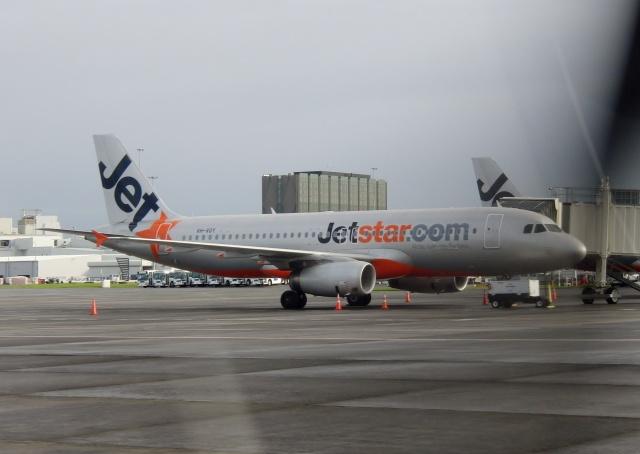 TA27さんが、オークランド空港で撮影したジェットスター A320-232の航空フォト(飛行機 写真・画像)