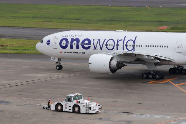mahiちゃんさんが、羽田空港で撮影した日本航空 777-246/ERの航空フォト(飛行機 写真・画像)