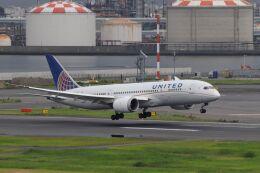 mahiちゃんさんが、羽田空港で撮影したユナイテッド航空 787-8 Dreamlinerの航空フォト(飛行機 写真・画像)