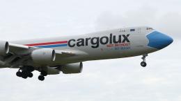raichanさんが、成田国際空港で撮影したカーゴルクス 747-8R7F/SCDの航空フォト(飛行機 写真・画像)