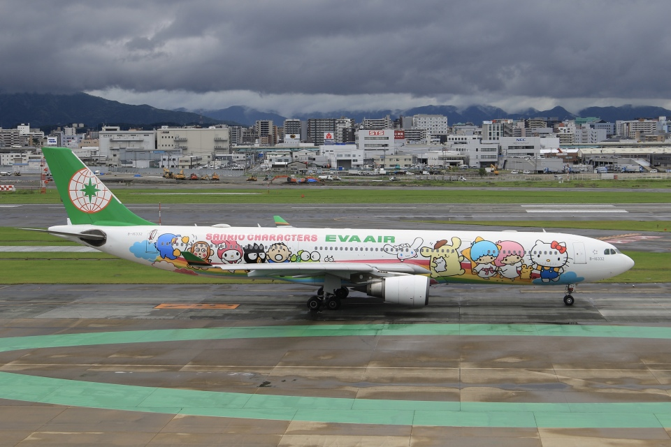 aki241012さんのエバー航空 Airbus A330-300 (B-16332) 航空フォト