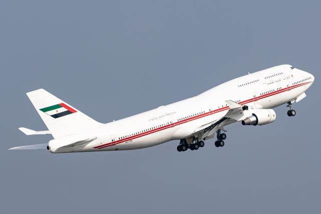 Ariesさんが、関西国際空港で撮影したドバイ・ロイヤル・エア・ウィング 747-433Mの航空フォト(飛行機 写真・画像)