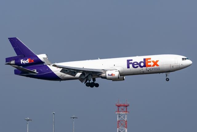 Ariesさんが、関西国際空港で撮影したフェデックス・エクスプレス MD-11Fの航空フォト(飛行機 写真・画像)