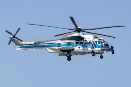 Ariesさんが、関西国際空港で撮影した海上保安庁 EC225LP Super Puma Mk2+の航空フォト(飛行機 写真・画像)