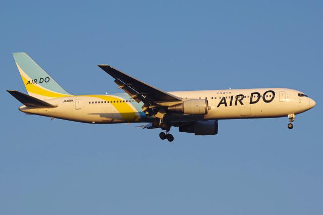 Tatsuya.Kさんが、羽田空港で撮影したAIR DO 767-381の航空フォト(飛行機 写真・画像)