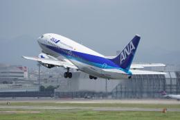 神宮寺ももさんが、伊丹空港で撮影したANAウイングス 737-5L9の航空フォト(飛行機 写真・画像)