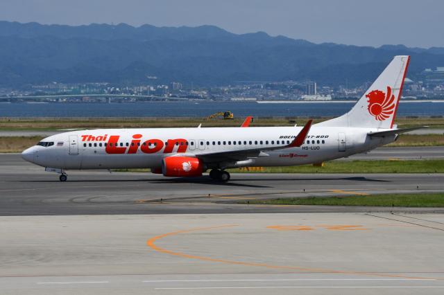 Deepさんが、関西国際空港で撮影したタイ・ライオン・エア 737-8GPの航空フォト(飛行機 写真・画像)