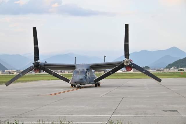 joepoさんが、山形空港で撮影したアメリカ空軍 CV-22Bの航空フォト(飛行機 写真・画像)