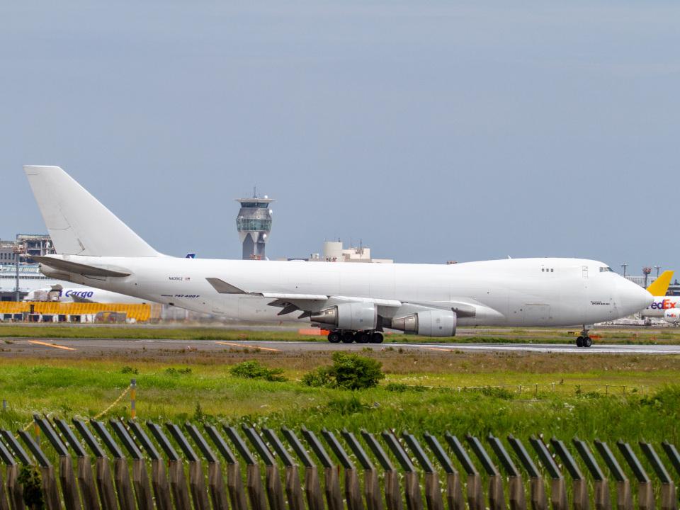 Mame @ TYOさんのアトラス航空 Boeing 747-400 (N405KZ) 航空フォト
