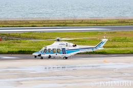 遠森一郎さんが、北九州空港で撮影した海上保安庁 AW139の航空フォト(飛行機 写真・画像)
