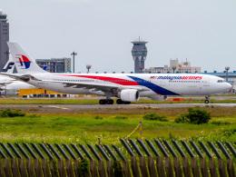 Mame @ TYOさんが、成田国際空港で撮影したマレーシア航空 A330-323Xの航空フォト(飛行機 写真・画像)