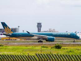 Mame @ TYOさんが、成田国際空港で撮影したベトナム航空 A350-941の航空フォト(飛行機 写真・画像)