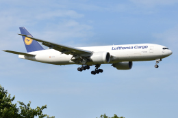 saoya_saodakeさんが、成田国際空港で撮影したルフトハンザ・カーゴ 777-FBTの航空フォト(飛行機 写真・画像)