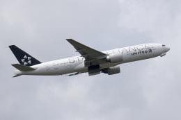シゲキックスさんが、成田国際空港で撮影したユナイテッド航空 777-224/ERの航空フォト(飛行機 写真・画像)
