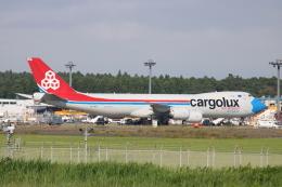 シゲキックスさんが、成田国際空港で撮影したカーゴルクス 747-8R7F/SCDの航空フォト(飛行機 写真・画像)