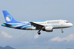 sachiさんが、関西国際空港で撮影したアエロ・モンゴリア A319-112の航空フォト(飛行機 写真・画像)