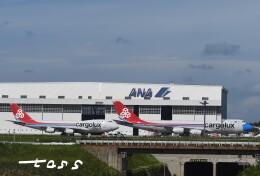 tassさんが、成田国際空港で撮影したカーゴルクス 747-8R7F/SCDの航空フォト(飛行機 写真・画像)