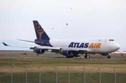 hanatomo735さんが、岩国空港で撮影したアトラス航空 747-48EF/SCDの航空フォト(飛行機 写真・画像)