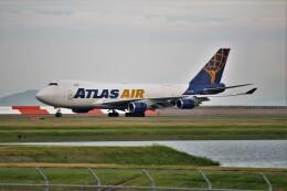 OMAさんが、岩国空港で撮影したアトラス航空 747-48EF/SCDの航空フォト(飛行機 写真・画像)