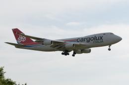 ぎんじろーさんが、成田国際空港で撮影したカーゴルクス・イタリア 747-4R7F/SCDの航空フォト(飛行機 写真・画像)