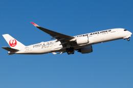 Yukio a.k.a Yu Worksさんが、福岡空港で撮影した日本航空 A350-941の航空フォト(飛行機 写真・画像)