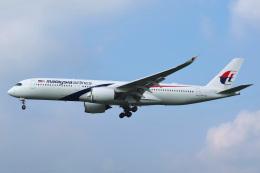 Tatsuya.Kさんが、成田国際空港で撮影したマレーシア航空 A350-941の航空フォト(飛行機 写真・画像)