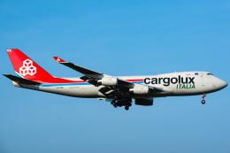 Tatsuya.Kさんが、成田国際空港で撮影したカーゴルクス・イタリア 747-4R7F/SCDの航空フォト(飛行機 写真・画像)