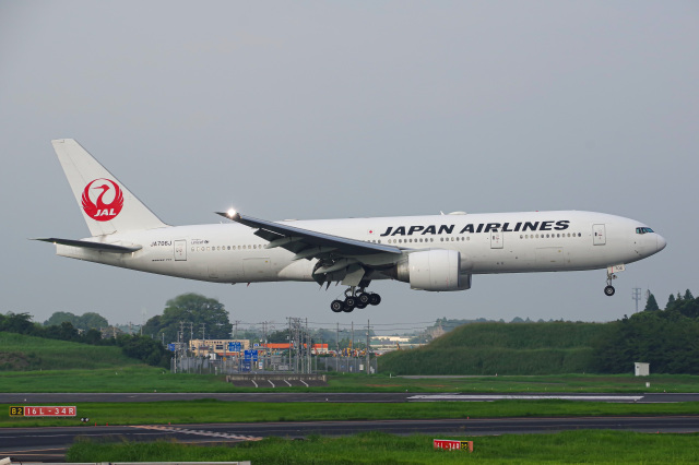 Tatsuya.Kさんが、成田国際空港で撮影した日本航空 777-246/ERの航空フォト(飛行機 写真・画像)