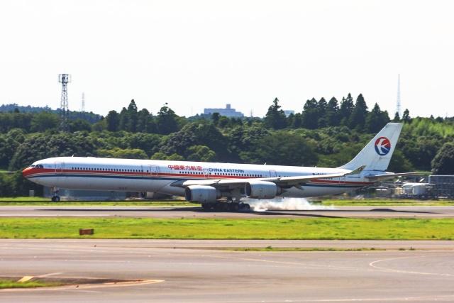 S.Hayashiさんが、成田国際空港で撮影した中国東方航空 A340-642の航空フォト(飛行機 写真・画像)