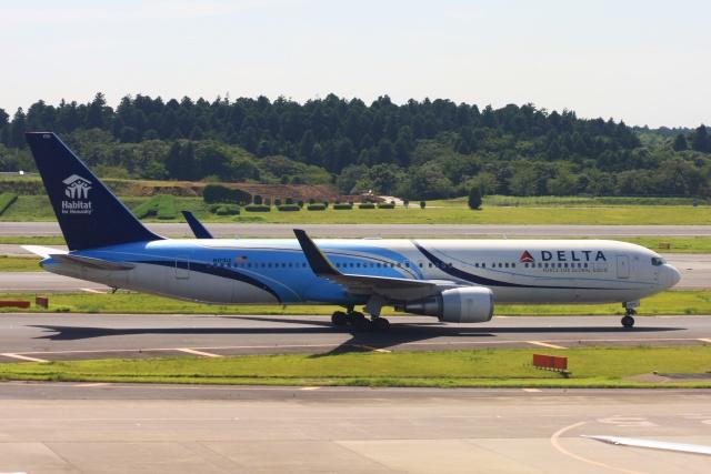 S.Hayashiさんが、成田国際空港で撮影したデルタ航空 767-332/ERの航空フォト(飛行機 写真・画像)