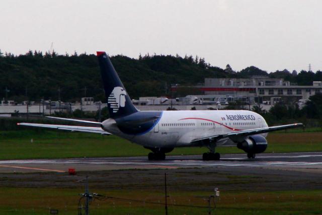 S.Hayashiさんが、成田国際空港で撮影したアエロメヒコ航空 767-283/ERの航空フォト(飛行機 写真・画像)