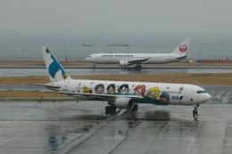 Sharp Fukudaさんが、羽田空港で撮影した全日空 767-381の航空フォト(飛行機 写真・画像)