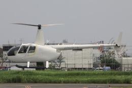 Hii82さんが、八尾空港で撮影した大阪航空 R44 Raven IIの航空フォト(飛行機 写真・画像)