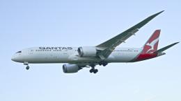 パンダさんが、成田国際空港で撮影したカンタス航空 787-9の航空フォト(飛行機 写真・画像)