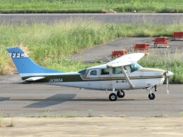 F.YUKIHIDEさんが、岡南飛行場で撮影した第一航空 TU206G Turbo Stationair 6の航空フォト(飛行機 写真・画像)