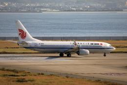 TAKAHIDEさんが、関西国際空港で撮影した中国国際航空 737-89Lの航空フォト(飛行機 写真・画像)