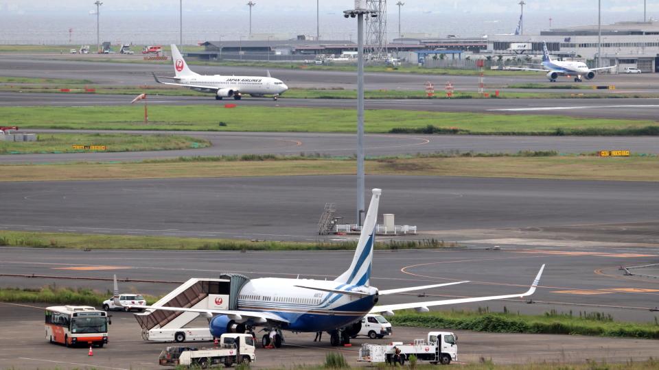 誘喜さんのラスベガス サンズ Boeing 737-700 (N887LS) 航空フォト
