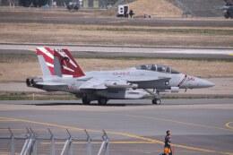 Mr.boneさんが、三沢飛行場で撮影したアメリカ海軍 EA-18G Growlerの航空フォト(飛行機 写真・画像)