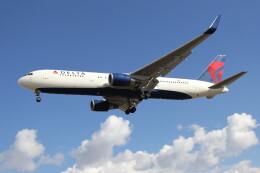 utarou on NRTさんが、成田国際空港で撮影したデルタ航空 767-3P6/ERの航空フォト(飛行機 写真・画像)