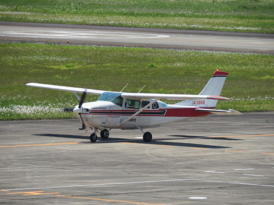 F.YUKIHIDEさんのエス・ジー・シー佐賀航空 Cessna 206 (JA3868) 航空フォト