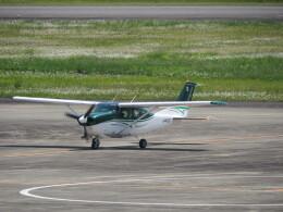 F.YUKIHIDEさんが、高知空港で撮影した共立航空撮影 TU206G Turbo Stationair 6の航空フォト(飛行機 写真・画像)