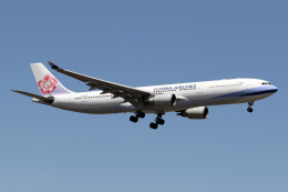 Echo-Kiloさんが、新千歳空港で撮影したチャイナエアライン A330-302の航空フォト(飛行機 写真・画像)