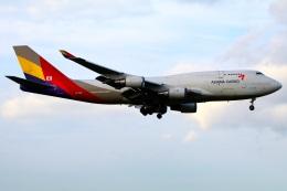 航空フォト:HL7618 アシアナ航空 747-400