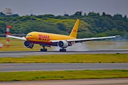 Souma2005さんが、成田国際空港で撮影したアエロ・ロジック 777-FZNの航空フォト(飛行機 写真・画像)