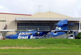 TA27さんが、North Shore Airportで撮影したGreat Barrier Airlines BN-2A Mk3 Trislanderの航空フォト(飛行機 写真・画像)