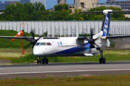 khideさんが、伊丹空港で撮影したエアーニッポンネットワーク DHC-8-402Q Dash 8の航空フォト(飛行機 写真・画像)