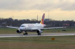 yabyanさんが、アムステルダム・スキポール国際空港で撮影したジャーマンウィングス A319-132の航空フォト(飛行機 写真・画像)