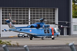 sonnyさんが、成田国際空港で撮影した千葉県警察 AW139の航空フォト(飛行機 写真・画像)